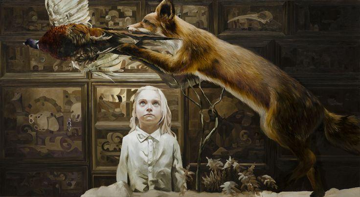 The room of life and death, 110 x 200 cm, 2014 Markus Akesson / Markus Åkesson