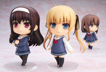 Displayed with Nendoroid Megumi Kato and Nendoroid Eriri Spencer Sawamura. (each sold separately)
