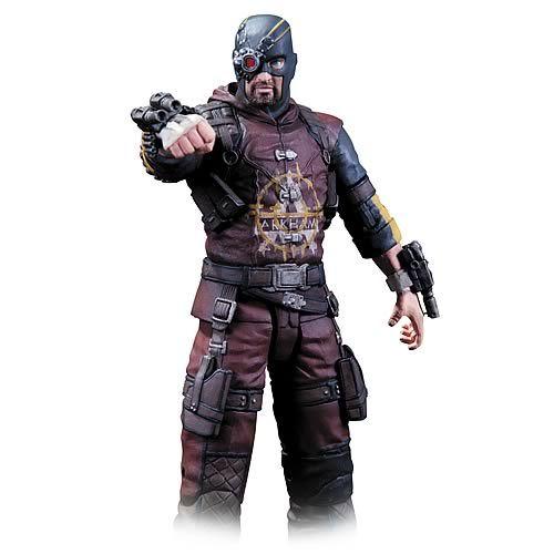 Batman Arkham City Series 4 Deadshot Action Figure - Dc Collectibles - Batman - Action Figures at Entertainment Earth