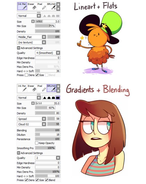 Brushes For Character Design : Tumblr inline o xatttu y rjelbb