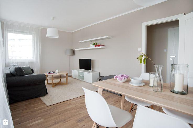 Salon styl Skandynawski - zdjęcie od re-ARCH Home Staging - Salon - Styl Skandynawski - re-ARCH Home Staging