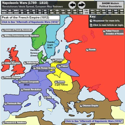 198 best resources on europe images on pinterest around the interactive map of european history sciox Gallery