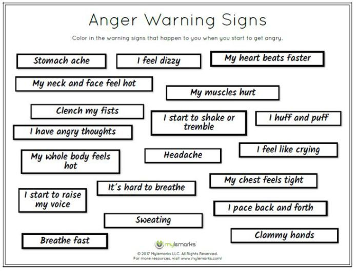 Image result for art therapy worksheets pdf adult   Anger ...