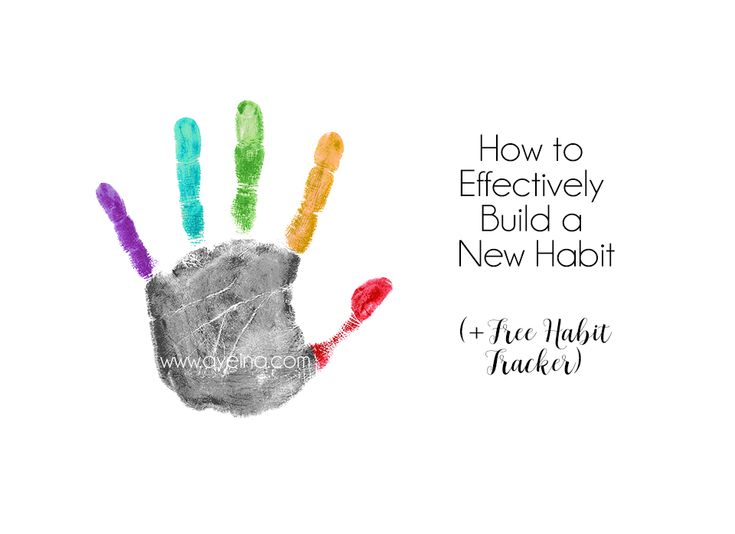 Practical steps to build a new habit using S.M.A.R.T. (Specific, Measurable, Attainable, Rewarding and Trackable/Timely) goal setting method and other effective tips and tricks to make those habits last - (along with a free habit tracker to help you track your progress).