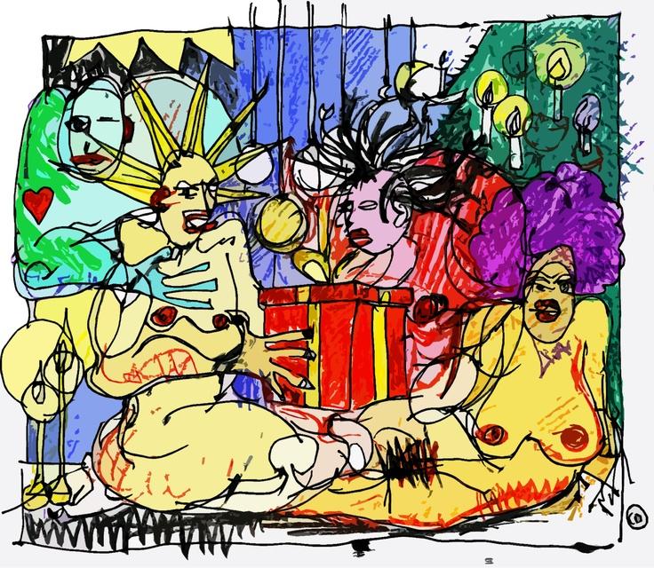 Holy Gift #illustration #sketch #drawing #art