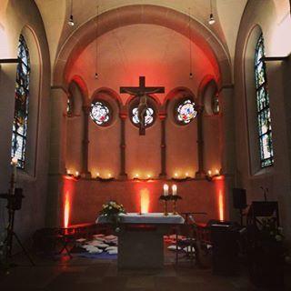 """In der Hackenbroicher Kirche """"St. Katharina"""""""