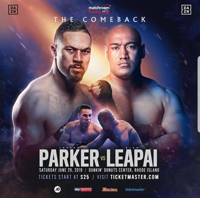 My List Of Boxing Matches With My Featured Cards Tonight Joseph Parker V Alex Leapai One Of Most Popular Undercard F In 2020 Ufc Fight Night Joseph Parker Boxing Fight