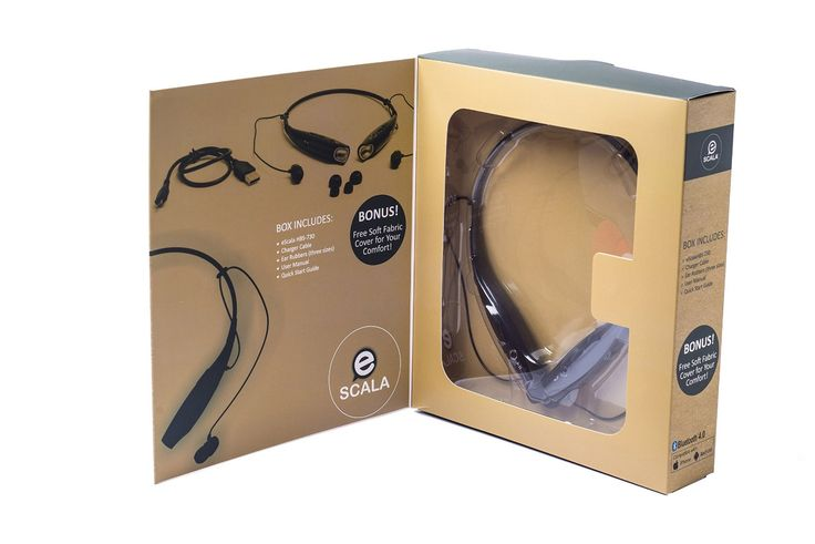 If you enjoy listening to music and, at the same time, need a good quality device for your business, eScala Neckband Headphones Headset is the best choice. It is appropriate for workouts as well as...