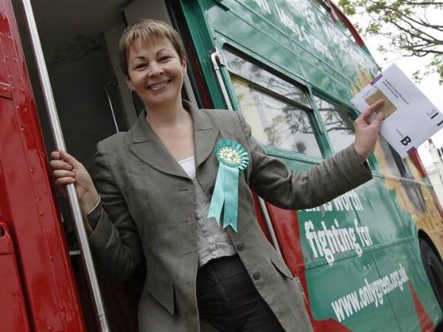 REVEALED: The secret behind the Green Party membership surge Caroline Lucas  -  Reuters