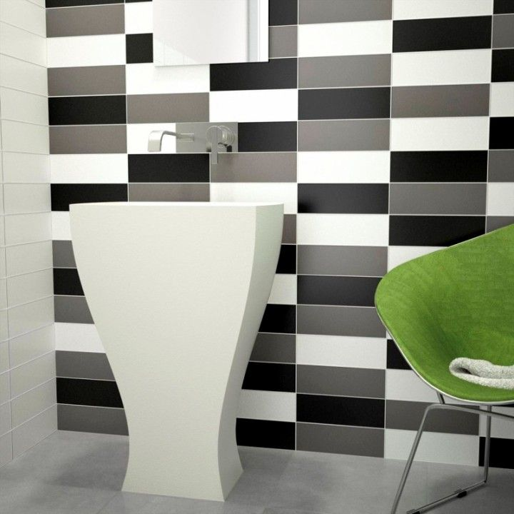 17 best Plain white tiles for stylishly simple designs images on ...