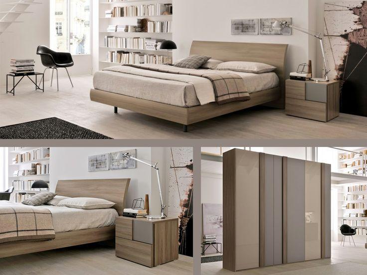 Camera ametista moderna ma ricercata questa camera da letto punta tutto su una palette colore