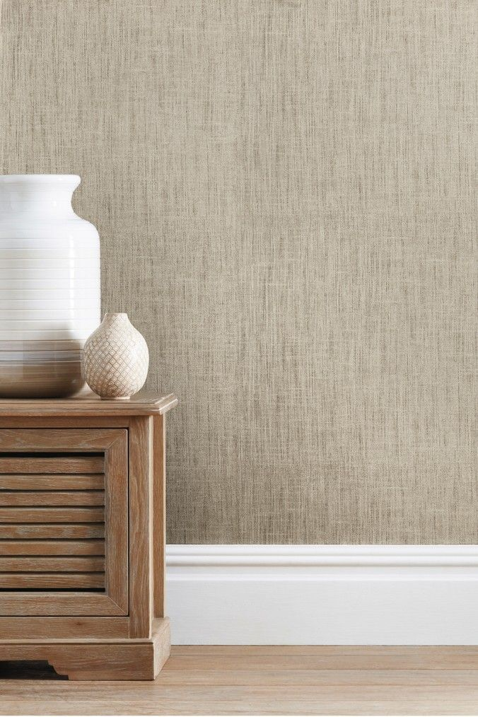 Next Paste The Wall Luxury Linen Look Wallpaper Natural In 2020 Luxury Linen Wallpaper Living Room Luxury Living Room