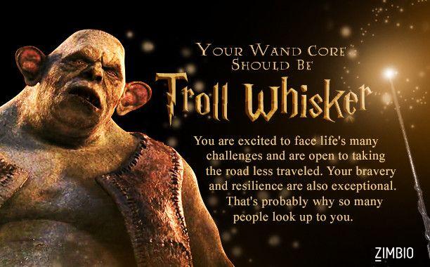 Troll whisker