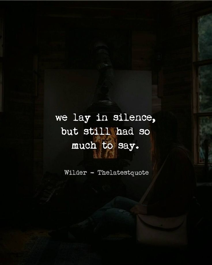 Short Sweet I Love You Quotes: Best 25+ Silence Quotes Ideas On Pinterest
