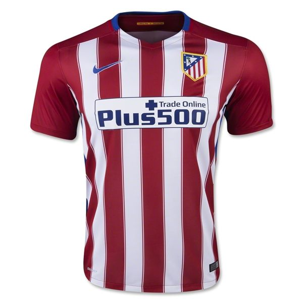 f1566a082 ... Atletico Madrid 1516 Home Soccer Jersey football footballshirts ...
