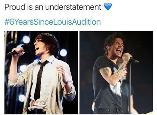 If this isn't success, I don't know what is. Good job Lou, I am SO unbelievably proud of you and now you are a judge on AGT. Good job Boo Bear.<3