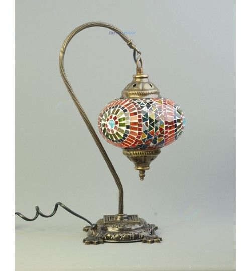 Bizimambar Gorgeous Swan Standing Table Lamp- Hand Made in Turkey! 342
