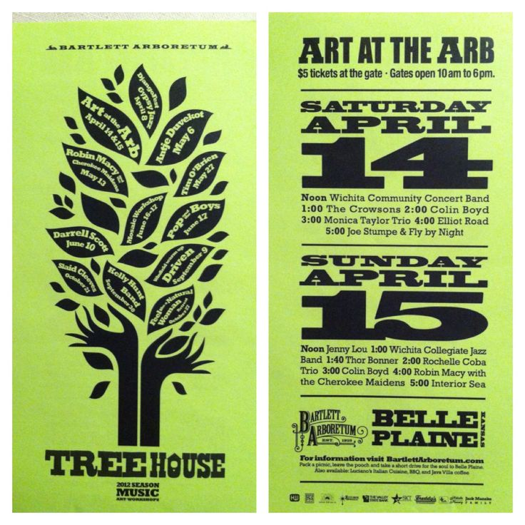 Treehouse Concert Series 2012