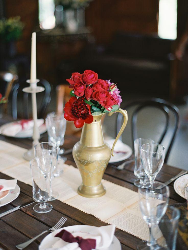 Латунь ваза
