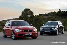 """New BMW 1 Series. I have to say that i prefer the """"old""""model...."""