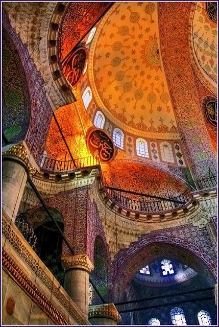 Yeni Cami, Istanbul - Photo by Vadim Arshavsky - 2010