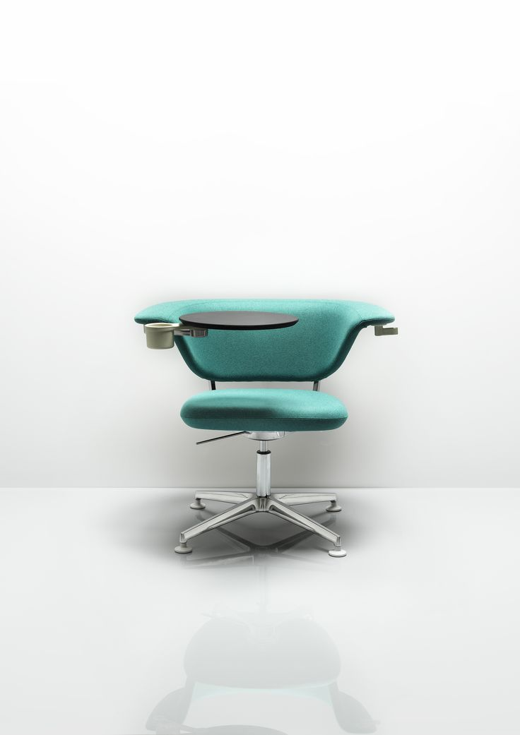 Sholes designed by Jinho Song. Sholes has been designed specifically to support collaborative work settings. Its generous proportions and wrap around back provide excellent comfort whichever position you take.