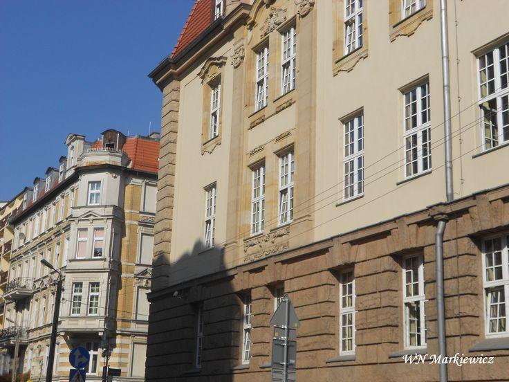 Poznań: old beautiful houses Poznań: piękne stare kamienice http://wyceny-nieruchomosci-markiewicz.pl/