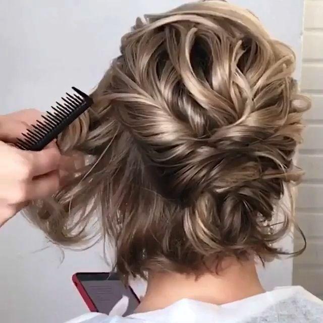 Popular Prom Hairstyles  bobfrisuren  frisuren  w… –  bobfrisuren  Frisuren