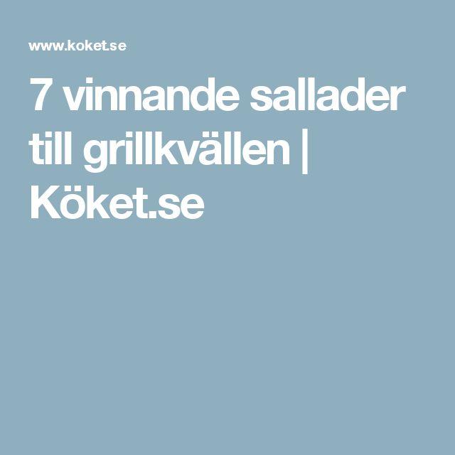 7 vinnande sallader till grillkvällen   Köket.se