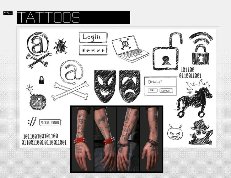 Wrench Watch Dogs  Tattoos