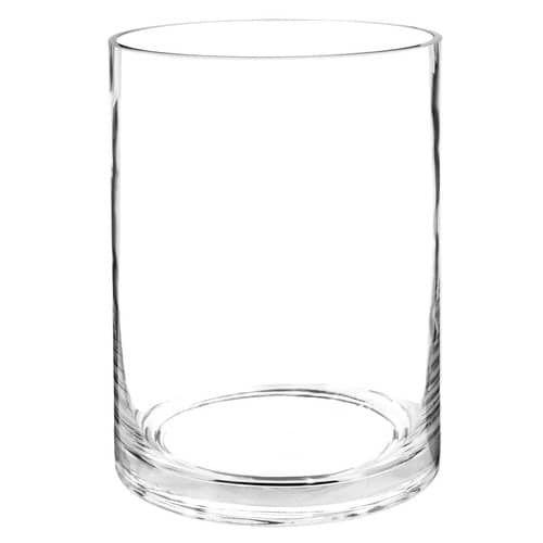 Vase en verre H.20cm CYLINDRE