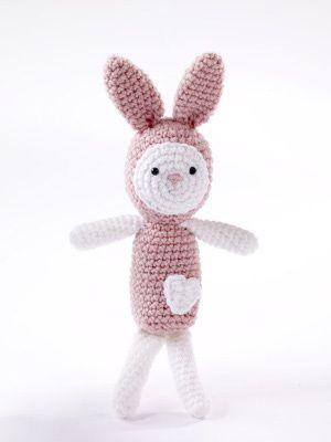 Amigurumi Heartfelt Bunny