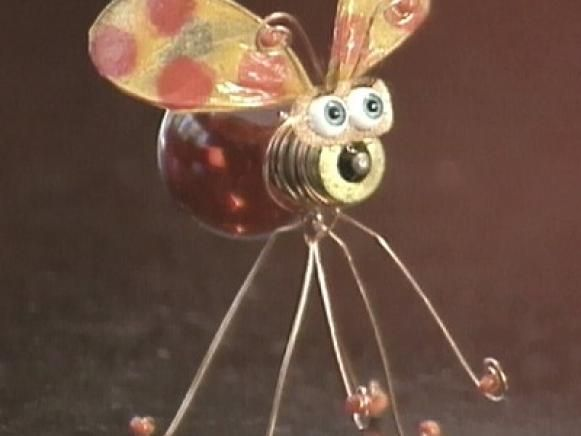 How to Make a Bug From a Light Bulb | Easy Crafts and Homemade Decorating & Gift Ideas | HGTV