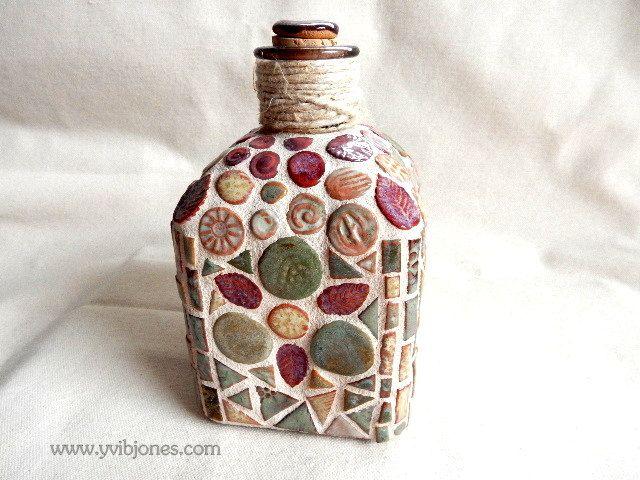 Decorative Mosaic Bottle Home Fragrance Diffuser Bottle