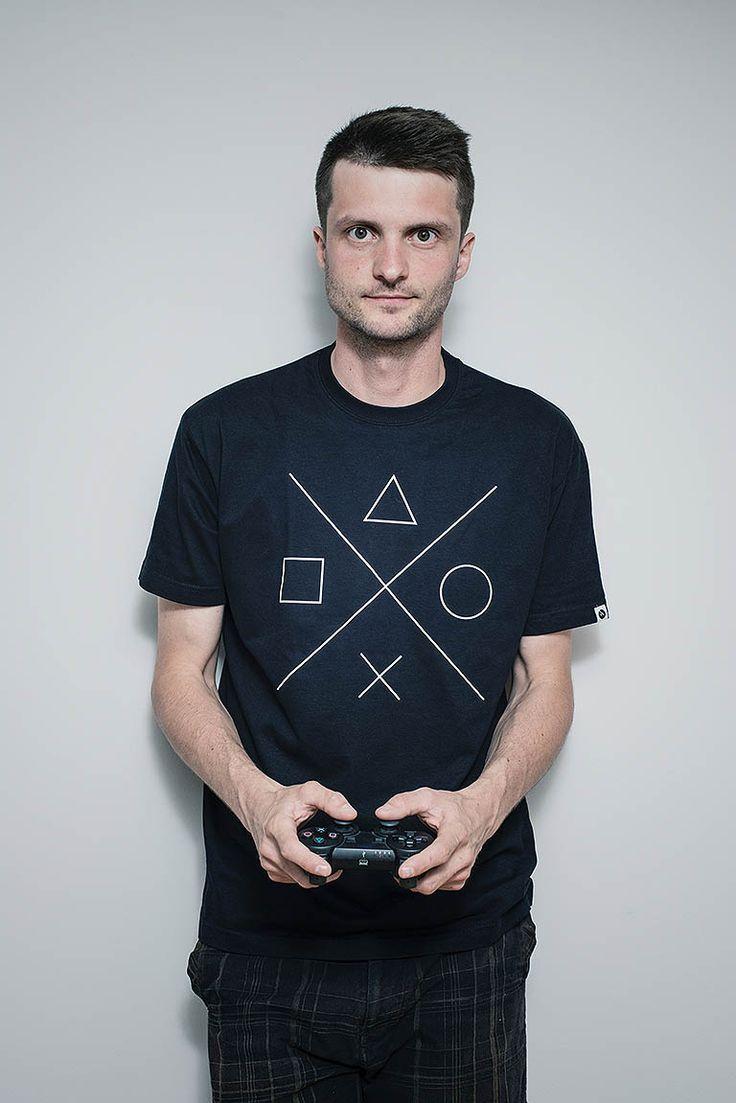 Gamer / Pánská trička Youngprimitive. Originální tričko pro kluky.