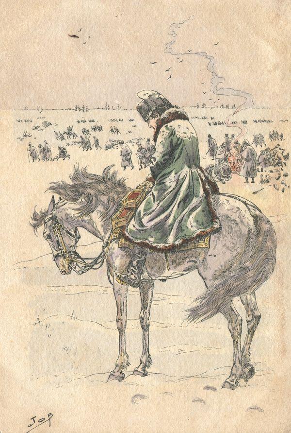 Napoleone durante la campagna di Russia - Jacques Onfroy de Bréville