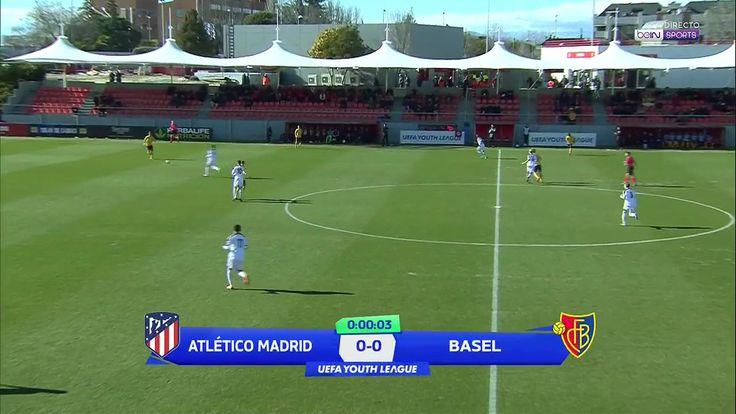 goals UEFA Youth League 17/18 - Atletico Madrid vs. FC Basel - 21/02/2018 Full Match link http://www.fblgs.com/2018/02/goals-uefa-youth-league-1718-atletico.html