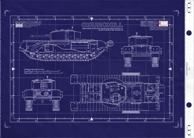 World War 2 Engineering Blueprints Google Search War Tank