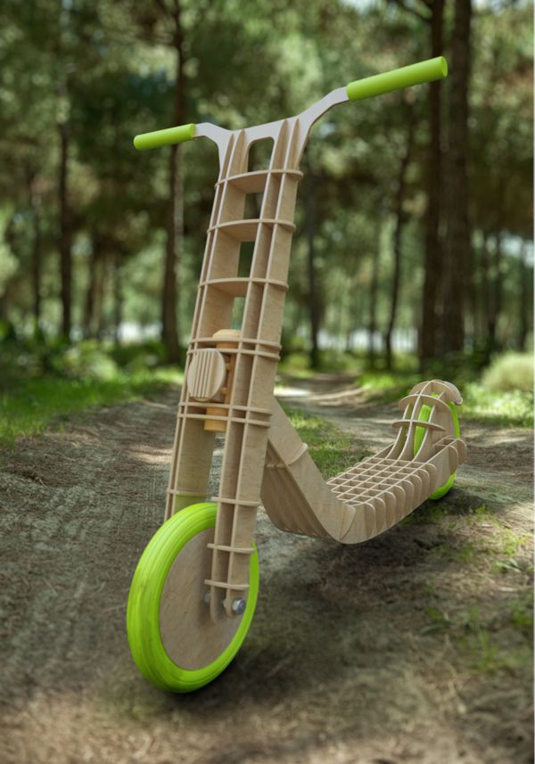 Scooter Woody by Martin Beinhauer, via Behance