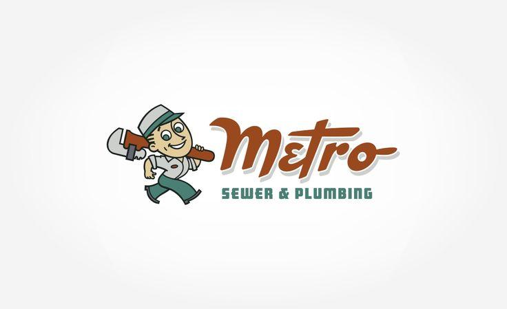 Metro Plumbing Brand Redesign, Truck Wrap