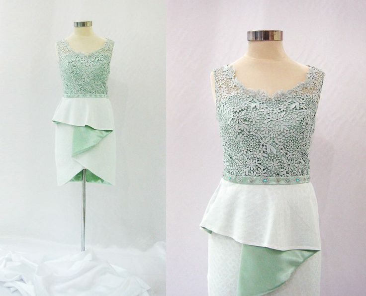 Sleeveless Cindy Dress in Pretty Mint Color || IDR 1,350,000