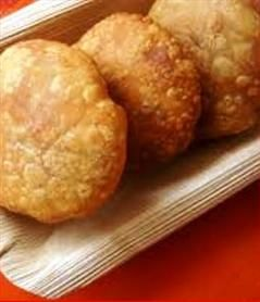 Khasta Kachori is very famous in Rajsthan. You can serve this dish as a snack. You can enjoy it with chutney or else if you want to eat as chaat then also it gives a great combination. If you wish to represent this as a chat form then the ingredients you will be needing- chopped onion, tomato. Spicy and Sweet Chutney and at last Indian gram flour sev. ...