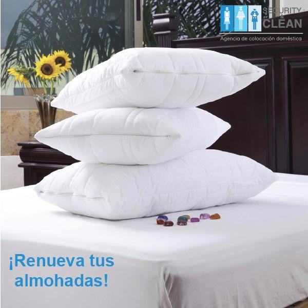 #SabíasQue Una almohada puede duplicar su peso en 2 años debido a la acumulación de polvo. Es recomendable lavarlas periódicamente y reemplazarlas por completo a los 2 años