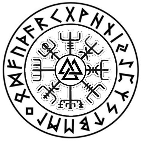 Diseño de tatuaje vikingo #Diseño #Tatuaje #Viking #vikingstattoo Tatuaje vikingo Desi …   – Der Alte Pfad. Firne Sitte.