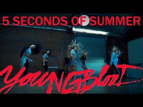 5 Seconds Of Summer Youngblood Dance Routine Tutorial