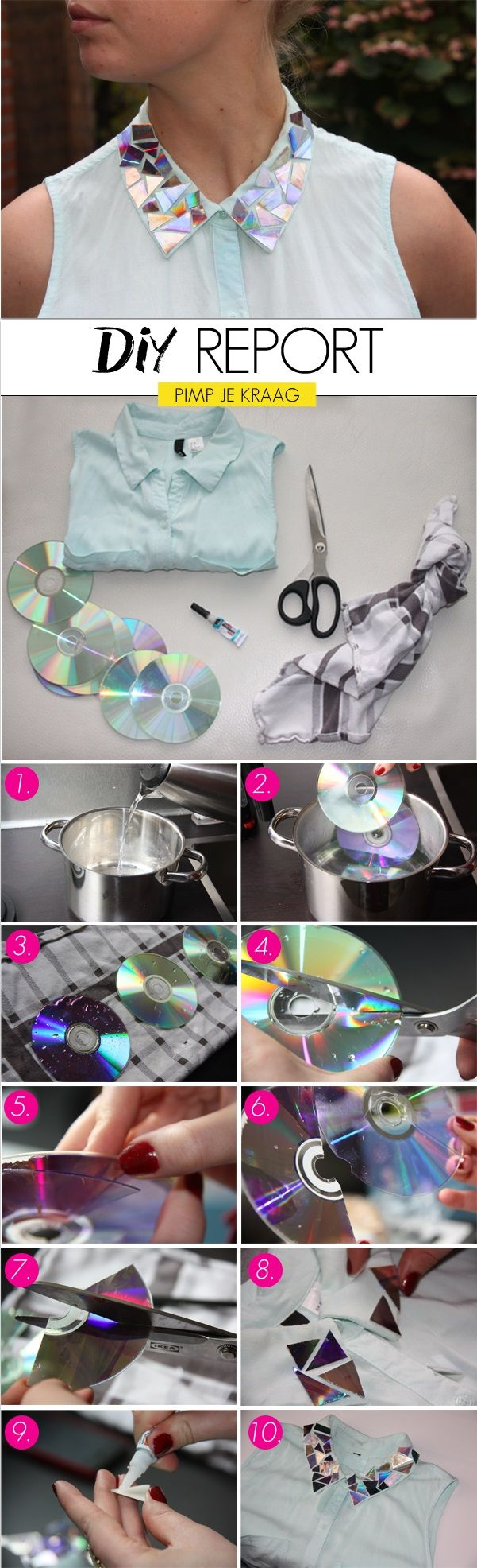 CDs-Shining-Effect-on-Your-Clothes-DIY