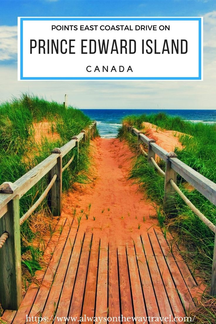 Prince Edward Island is one of my favorite travel destinations in Canada, and Points East Coastal Drive is a magic road trip on Prince Edward Island. Click on this pin to read more.