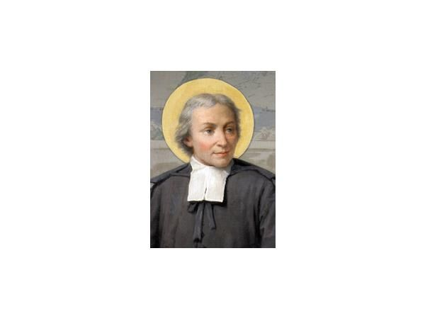 St. John Baptiste de la Salle, patron saint of teachers.