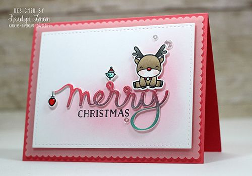 mama elephant | design blog: Reindeer Games with Karolyn Loncon
