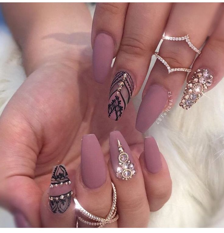 136 best Acrylic nails images on Pinterest | Cute nails, Nail design ...